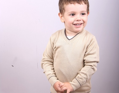 Child v-neck  sweater 1212372V3100H