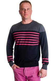Men's sweater stripes model 1214321C3100