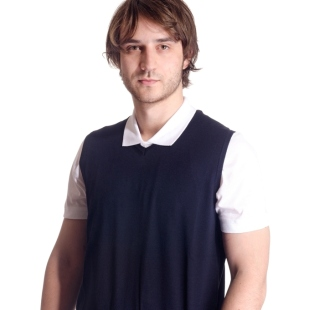 Men's sleeveless sweater model 1214392C3100