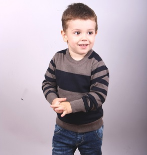 Детски пуловер райе модел 1312392C3120