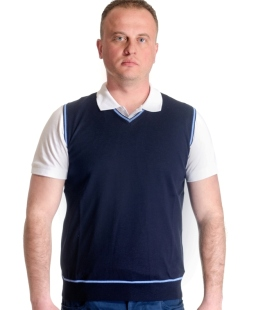 Men's sleeveless sweater model 1314032A3100