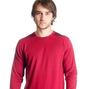 Men's sweater neck model 13141002C3100C