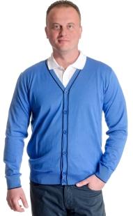 Men's vest with buttons model 1314232Q3100