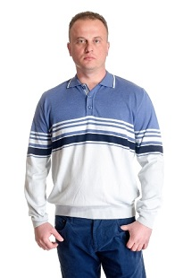 Men's shirt with buttons