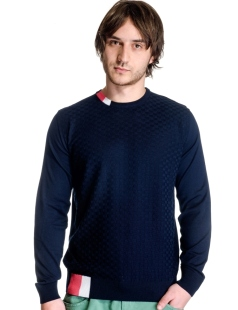 Men's sweater neck model 1414372C3100