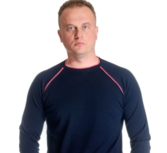 Men's sweater neck model 1414382C3100