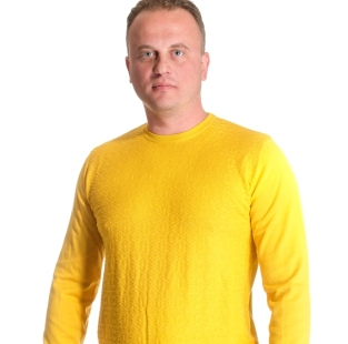 Men's sweater neck model 1414431C3100